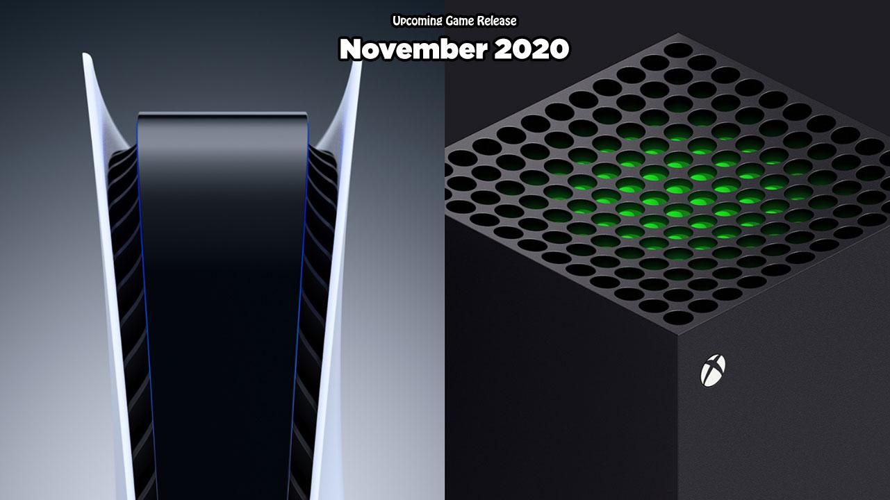 upcoming game release november 2020