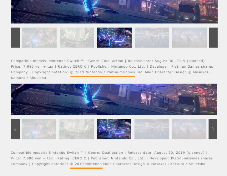 astral chain copyright