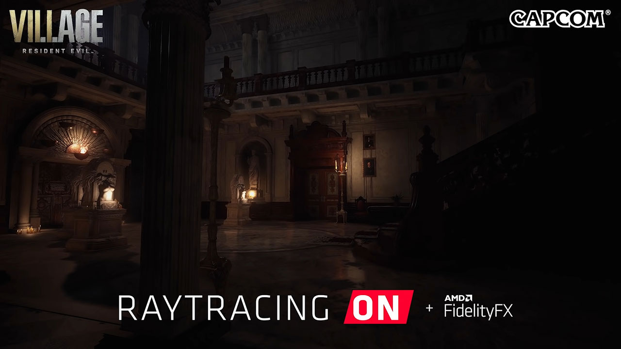 resident evil village ray tracing