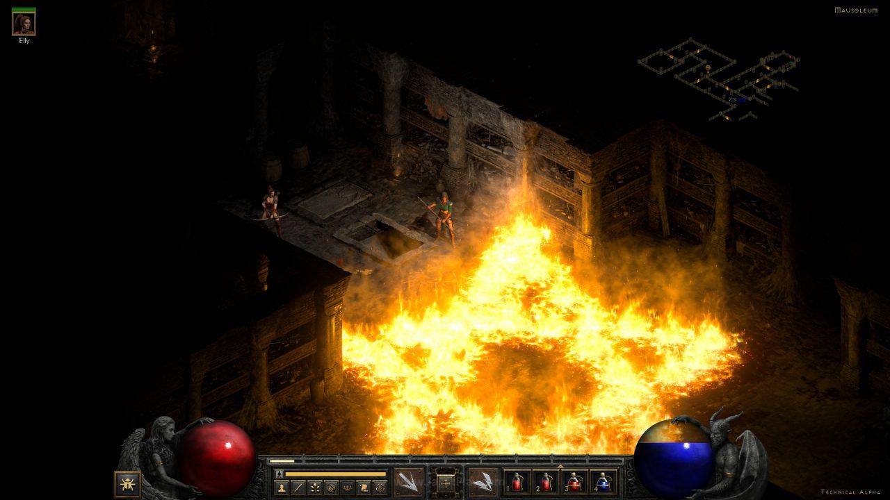 Diablo II Resurrected technical alpha jagatplay 34