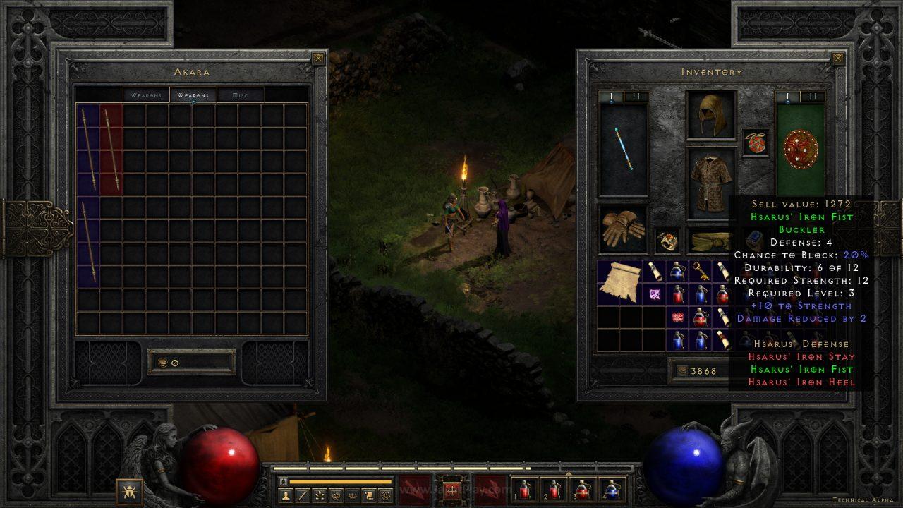 Diablo II Resurrected technical alpha jagatplay 50