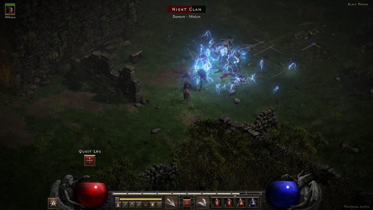 Diablo II Resurrected technical alpha jagatplay 51