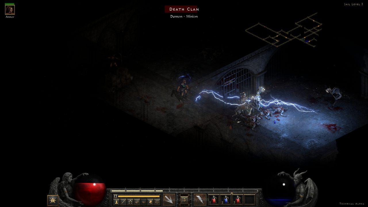 Diablo II Resurrected technical alpha jagatplay 68