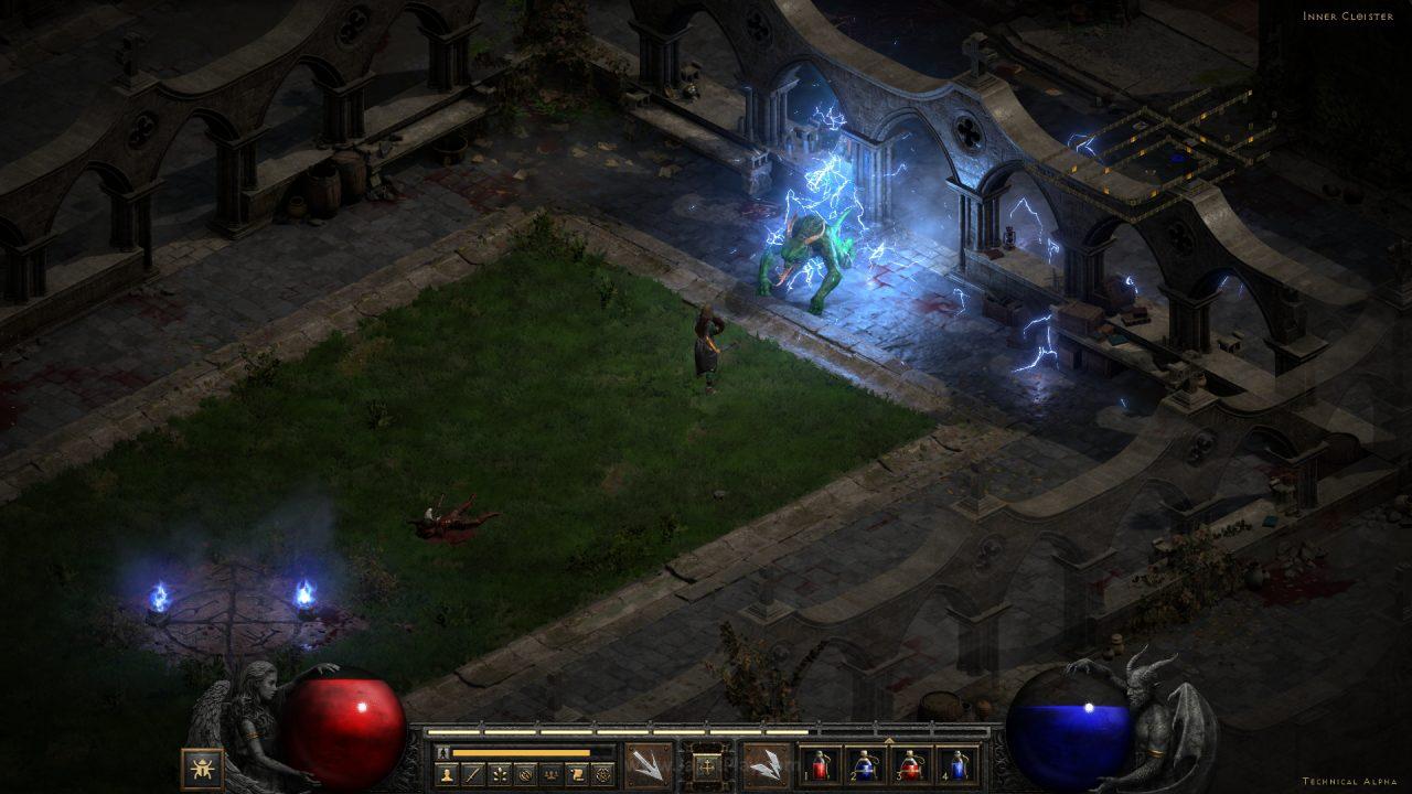 Diablo II Resurrected technical alpha jagatplay 69