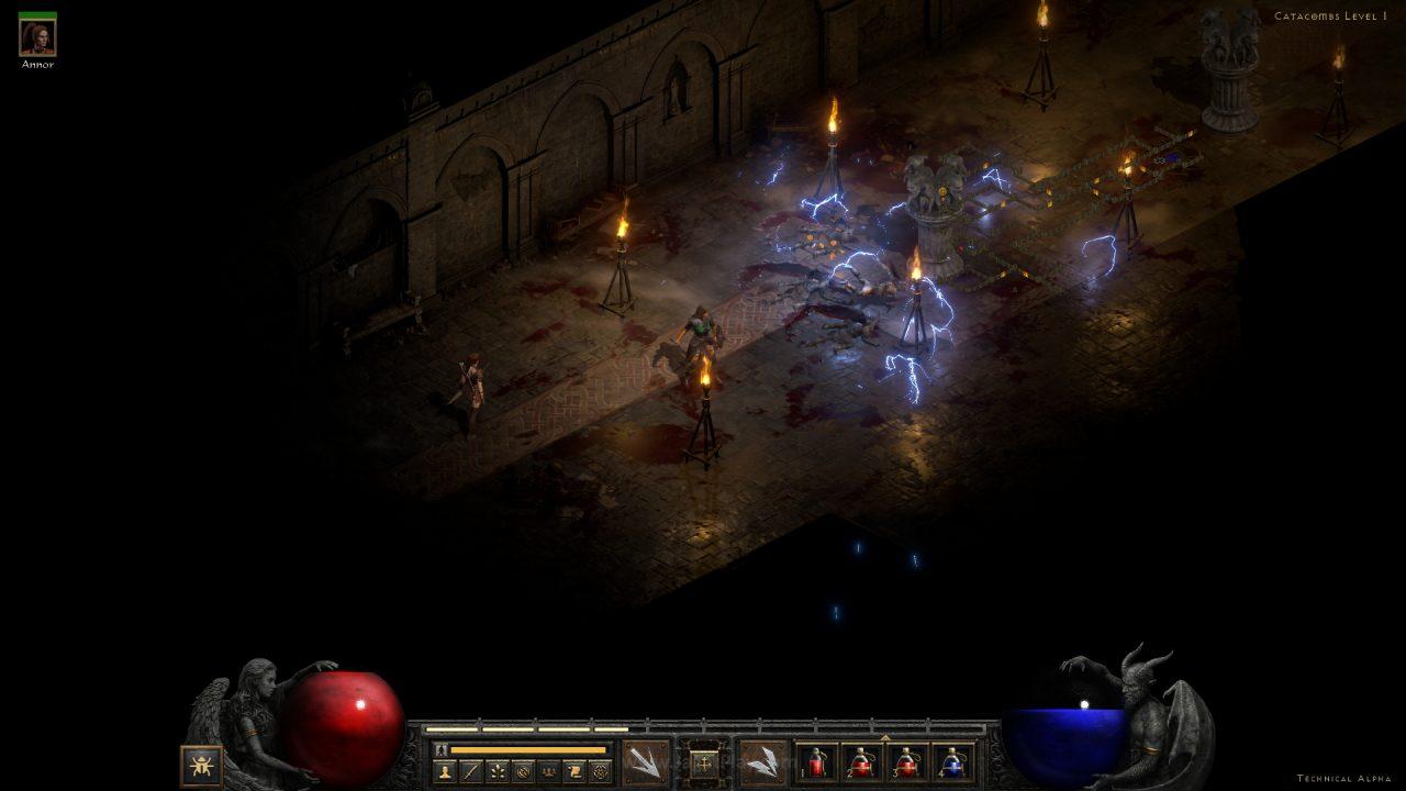 Diablo II Resurrected technical alpha jagatplay 71