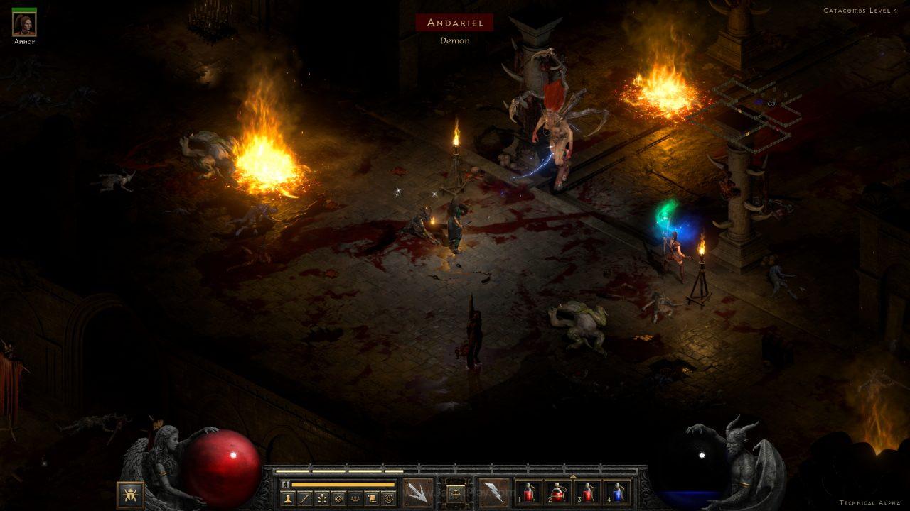 Diablo II Resurrected technical alpha jagatplay 74 1