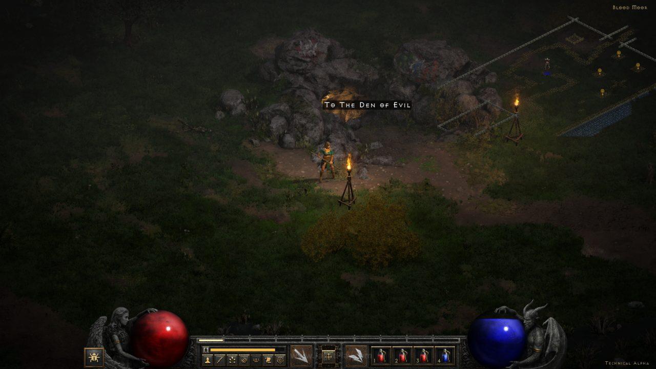 Diablo II Resurrected technical alpha jagatplay 8