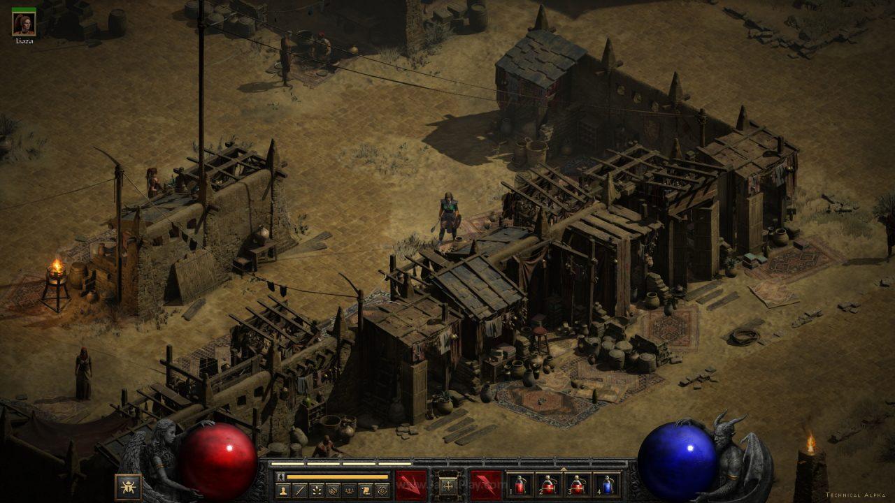 Diablo II Resurrected technical alpha jagatplay 82 1