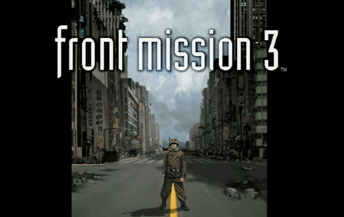 front mission 3 title