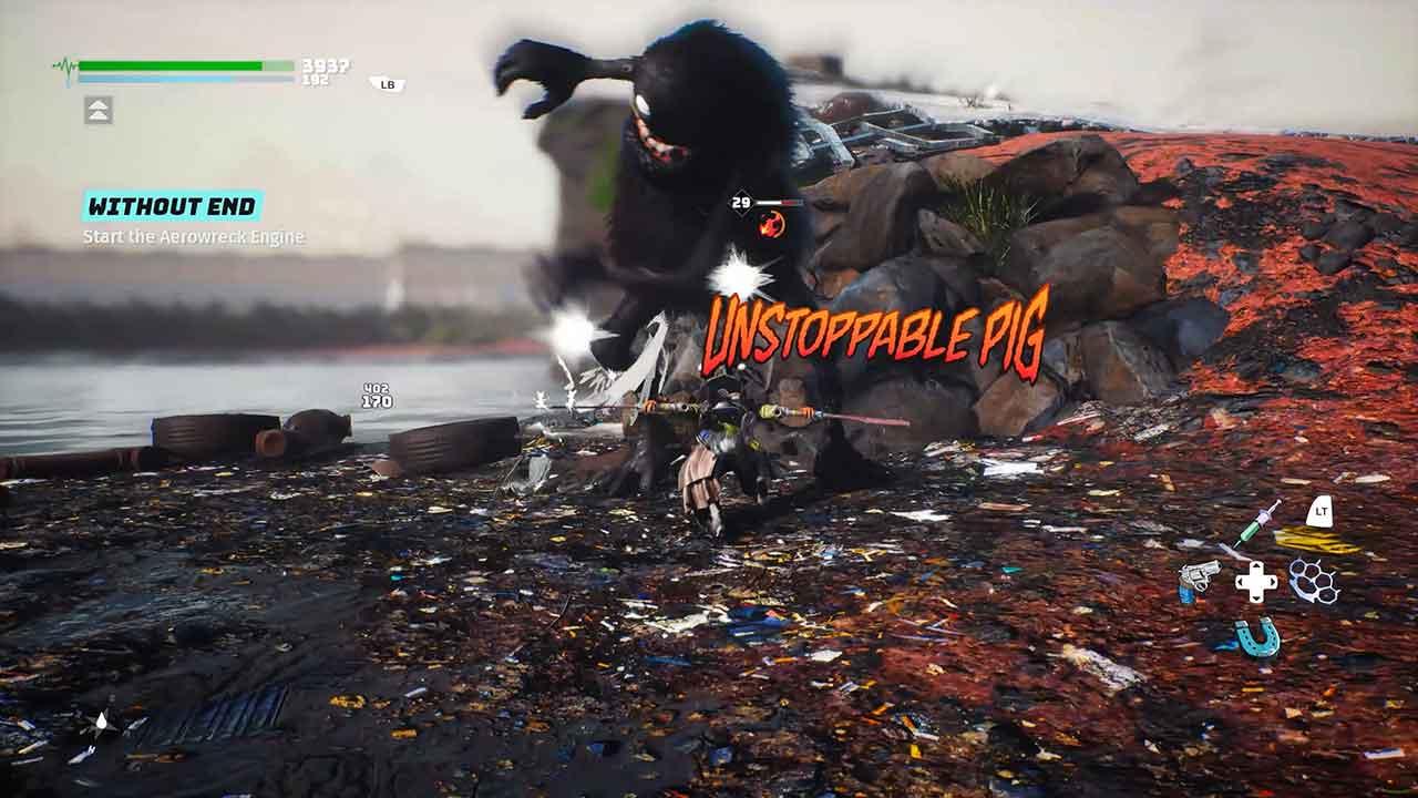 biomutant new gameplay
