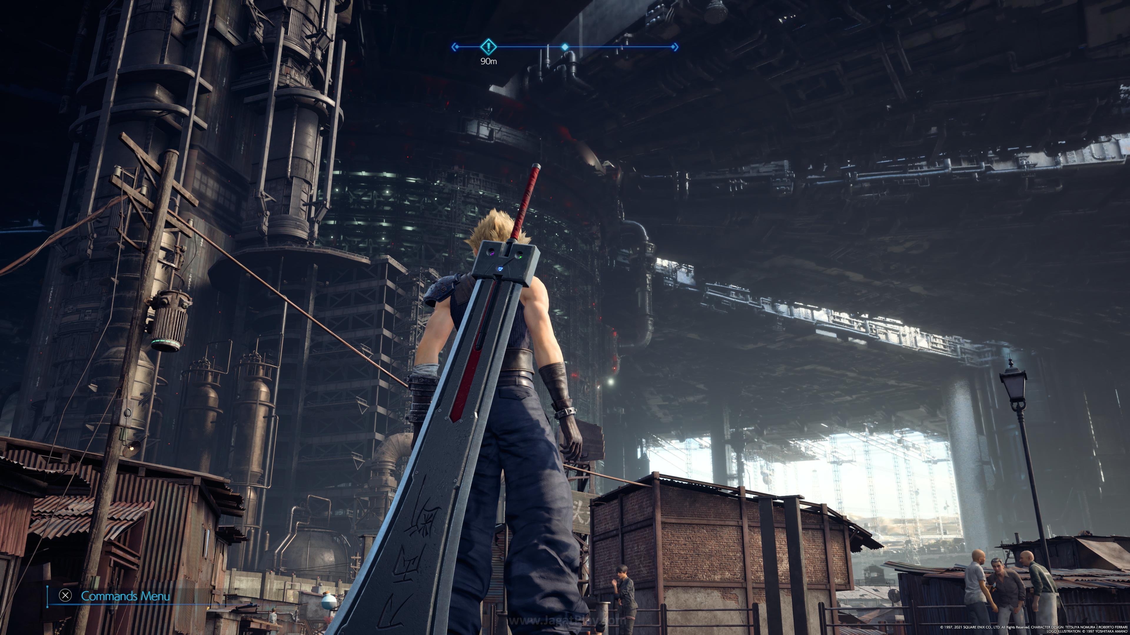 Final Fantasy VII Remake Intergrade jagatplay 1