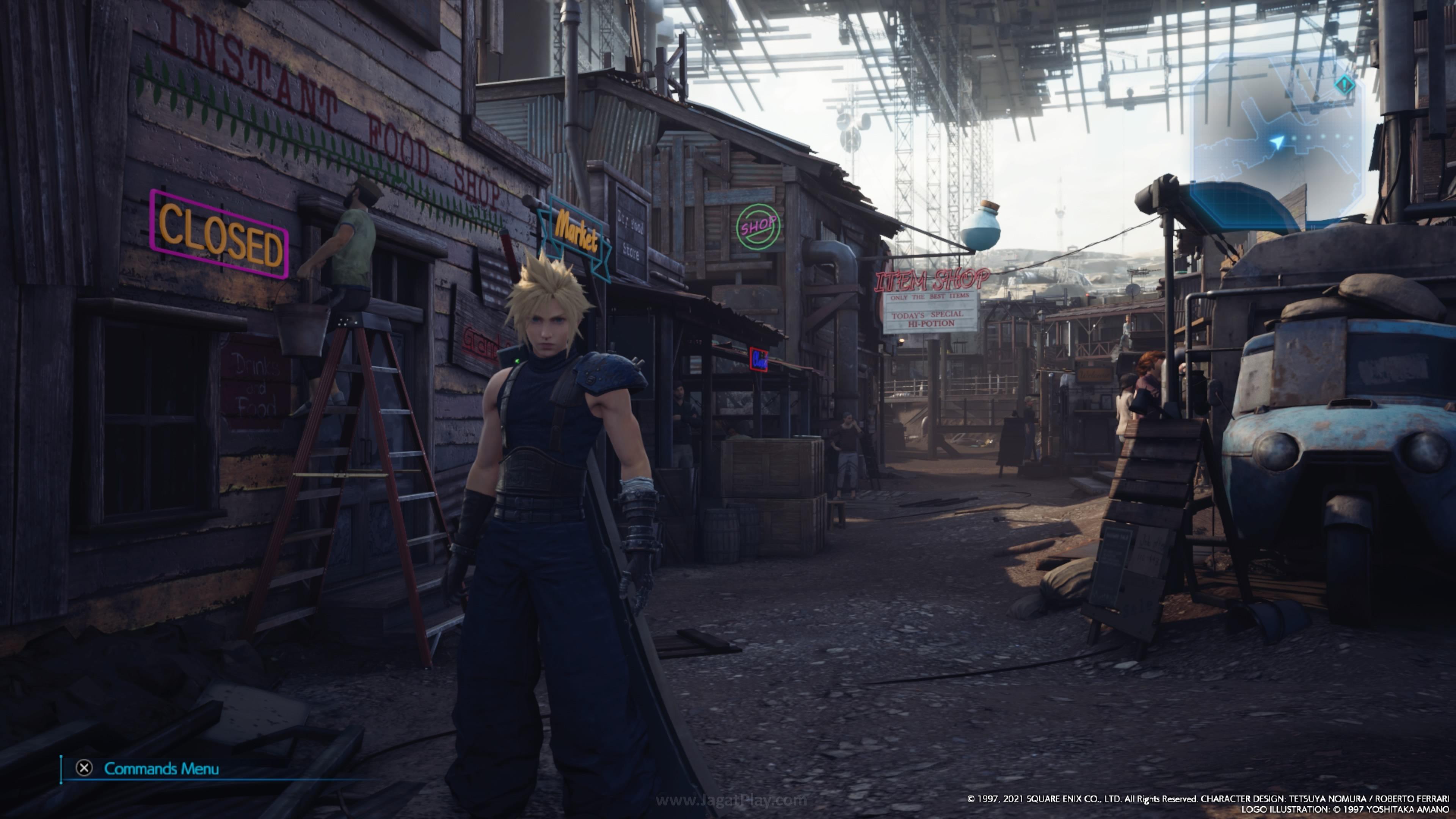 Final Fantasy VII Remake Intergrade jagatplay 109