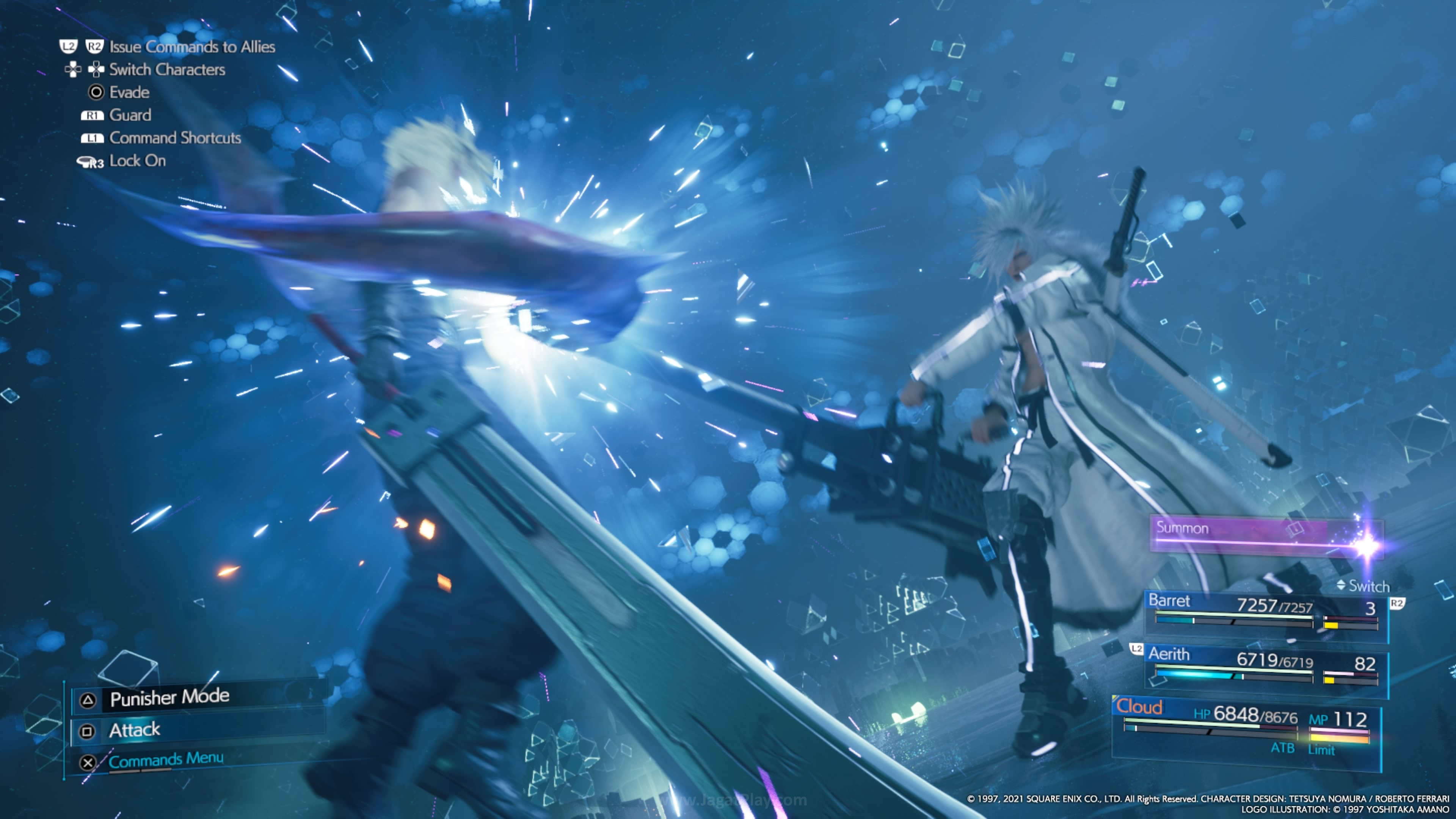 Final Fantasy VII Remake Intergrade jagatplay 96