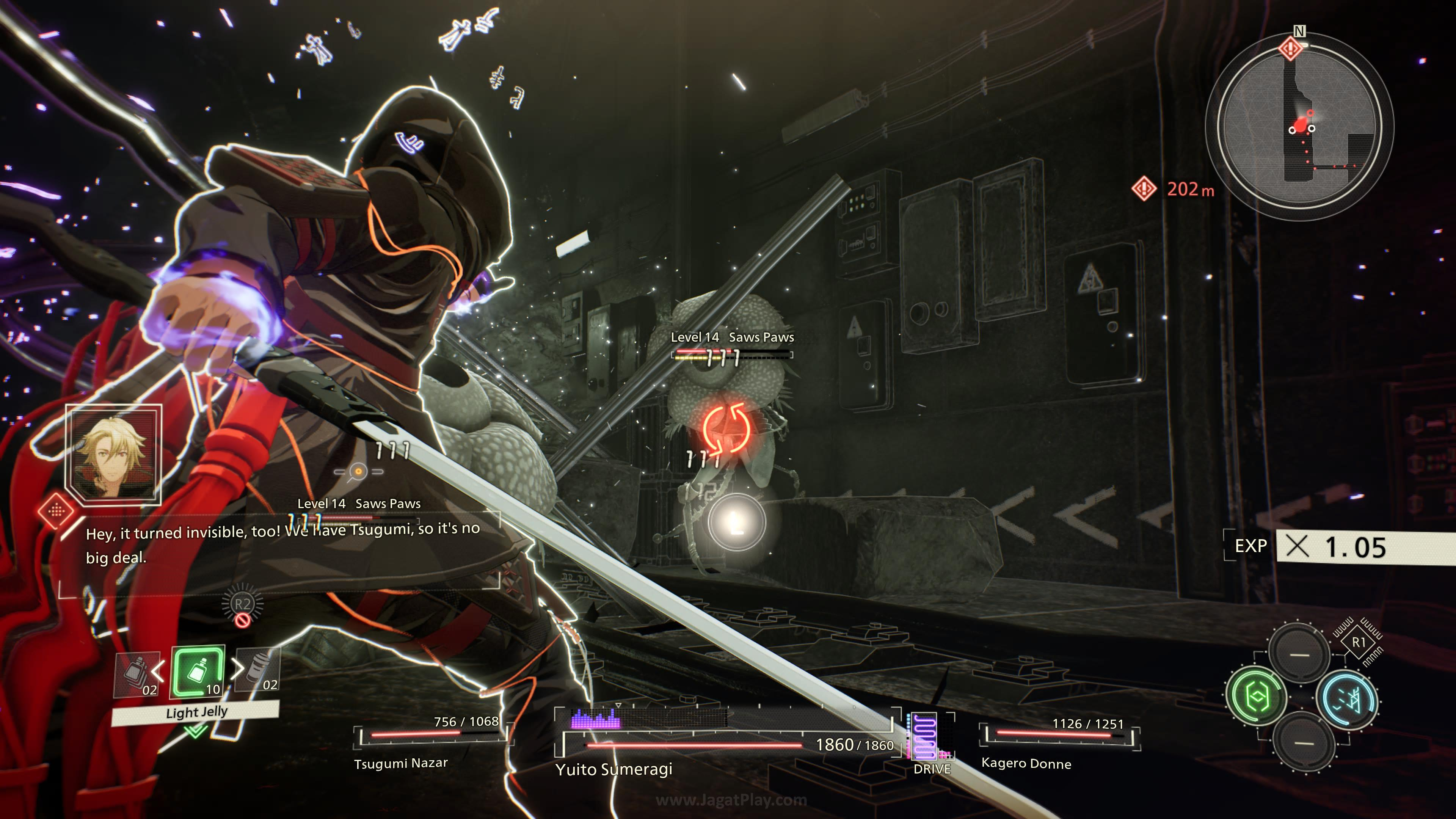 Scarlet Nexus jagatplay part 1 70