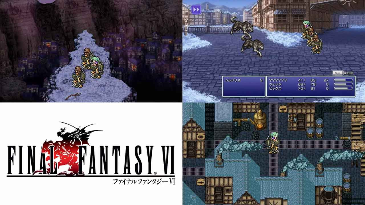 final fantasy vi pixel remaster