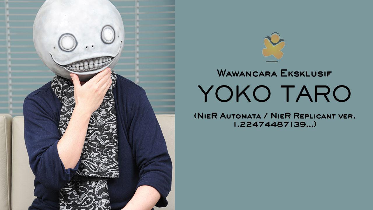 yoko taro interview