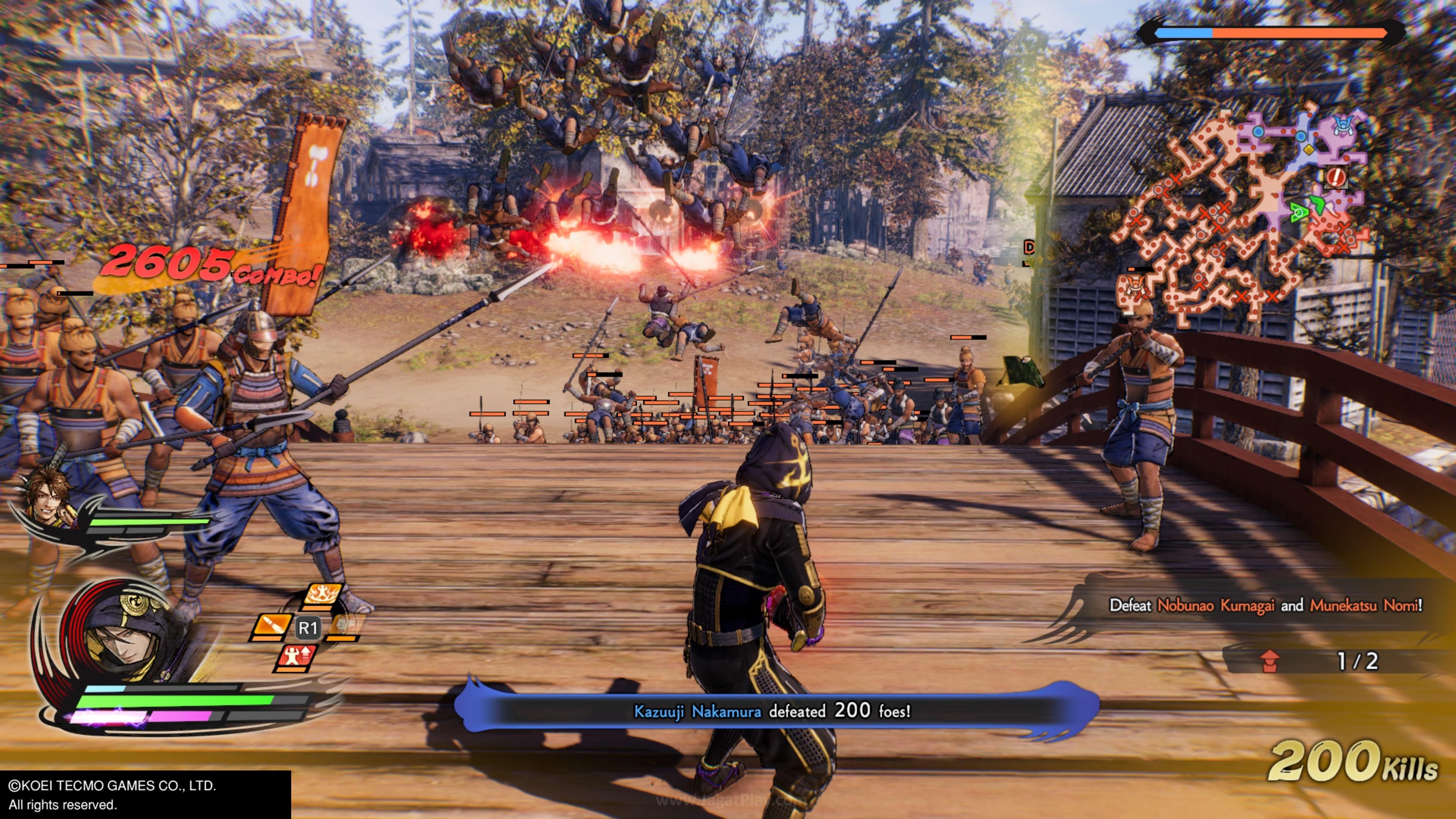 Samurai Warriors 5 jagatplay 100