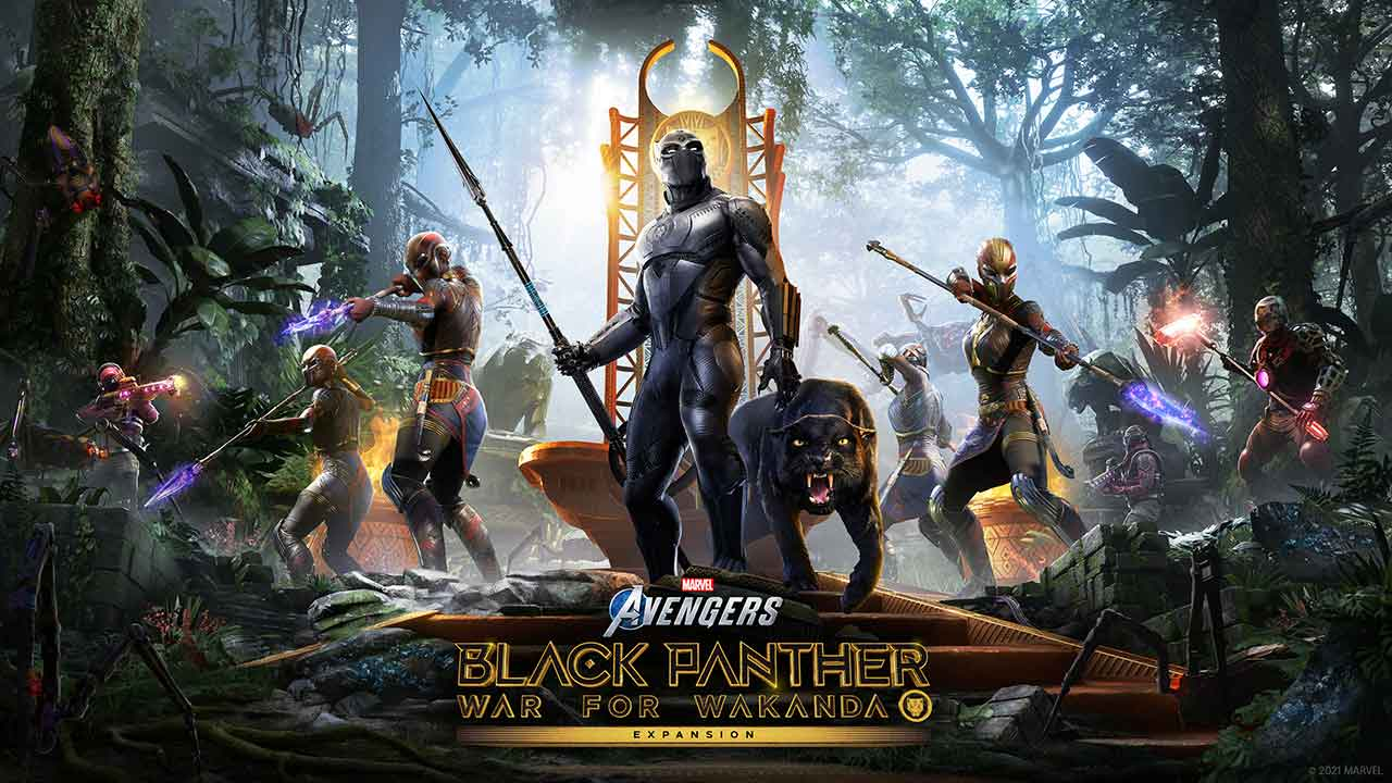 black panther marvels avengers