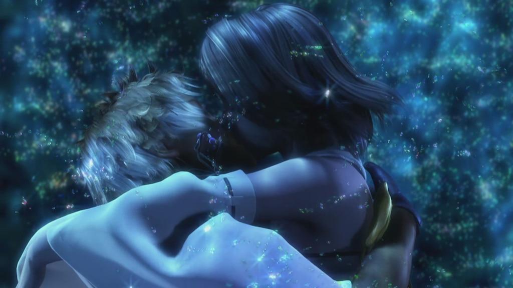 ff x kissing