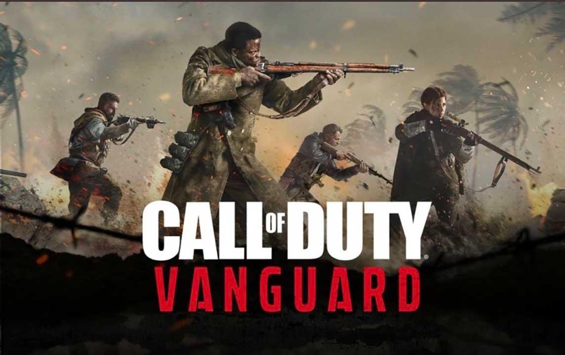cod vanguard key artwork