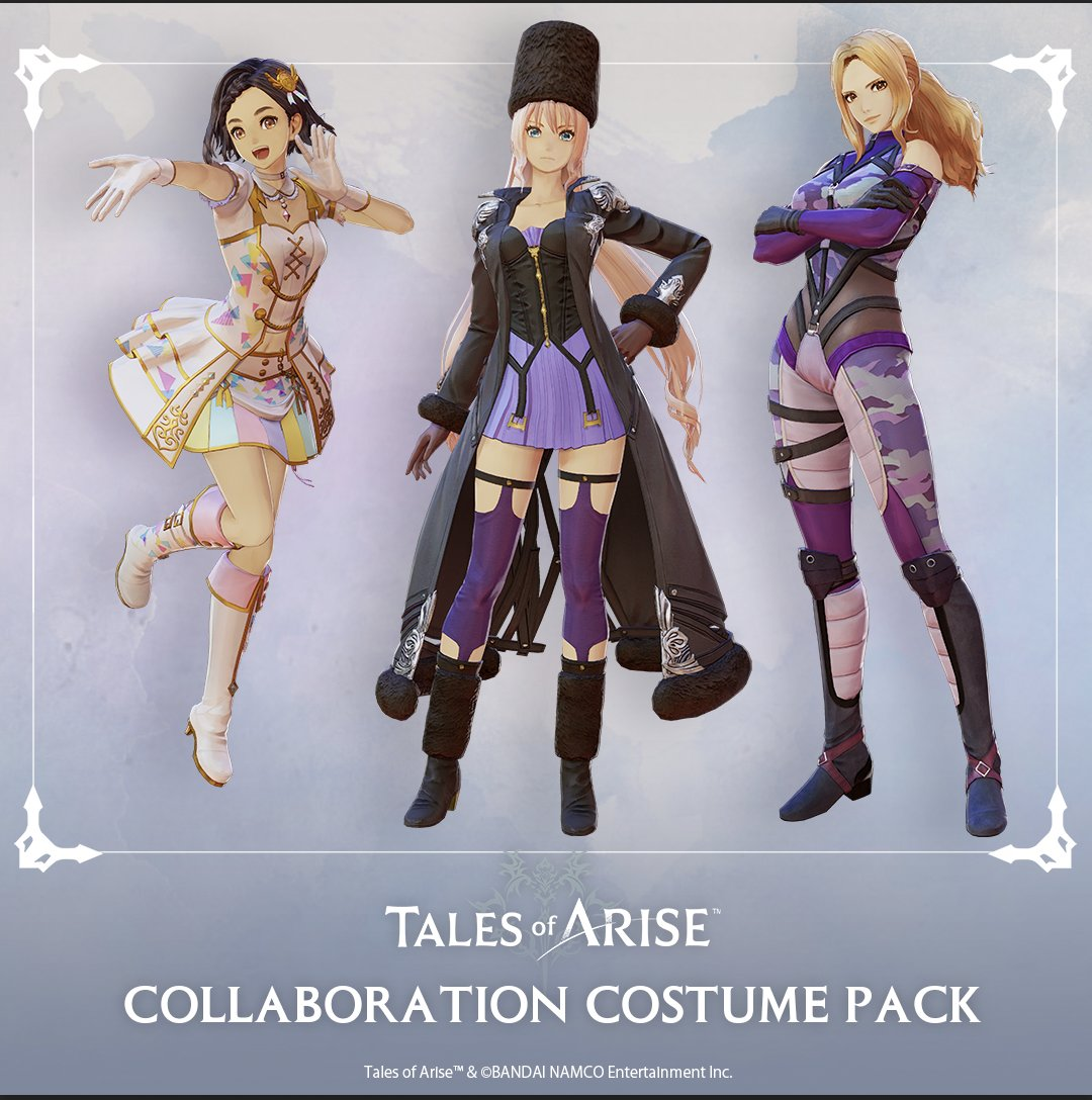 tales of arise collaboration