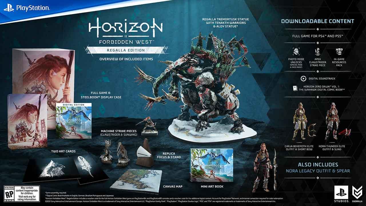 horizon forbidden west regalla edition 1