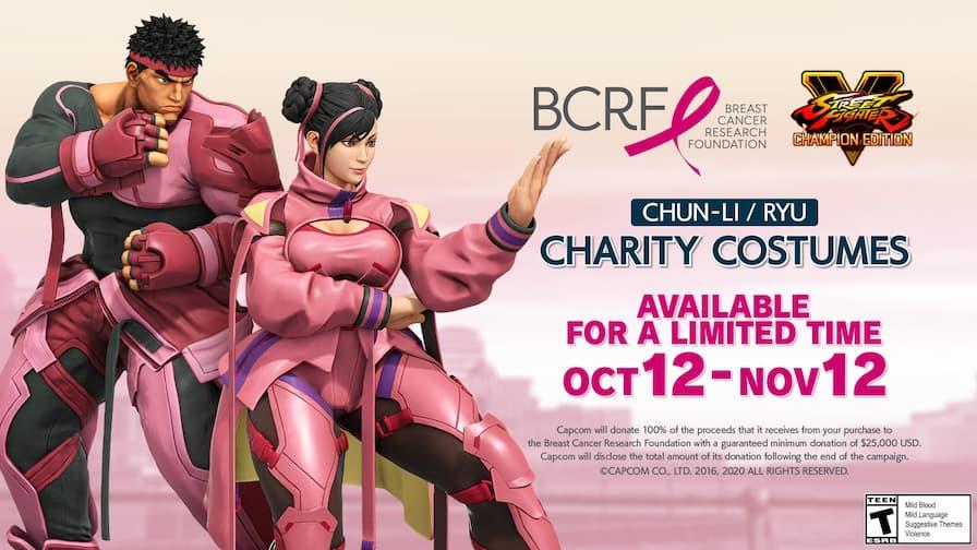 street fighter v breast cancer