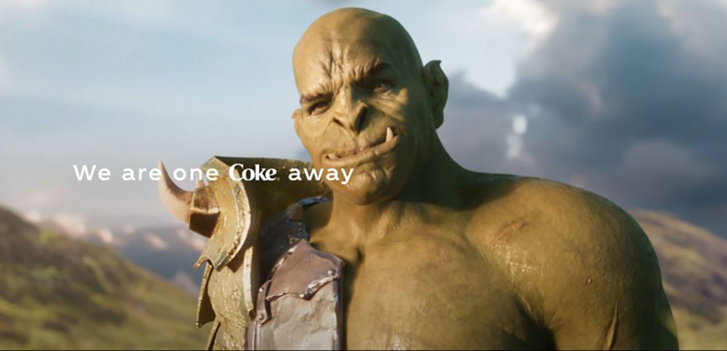we are one coke away